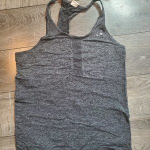 Gray Champion Razorback Workout Top Small